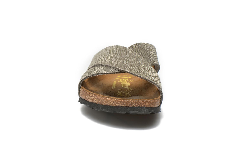 Clogs & Pantoletten Papillio Daytona Cuir Nubuck W grau schuhe getragen