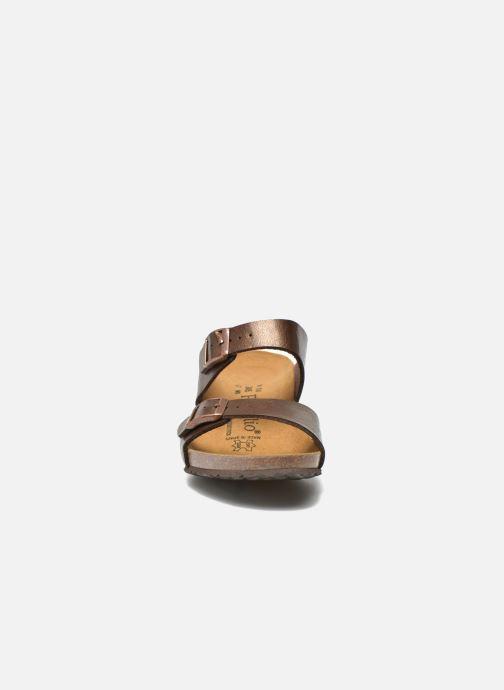 Mules et sabots Papillio Dorothy Flor Marron vue portées chaussures