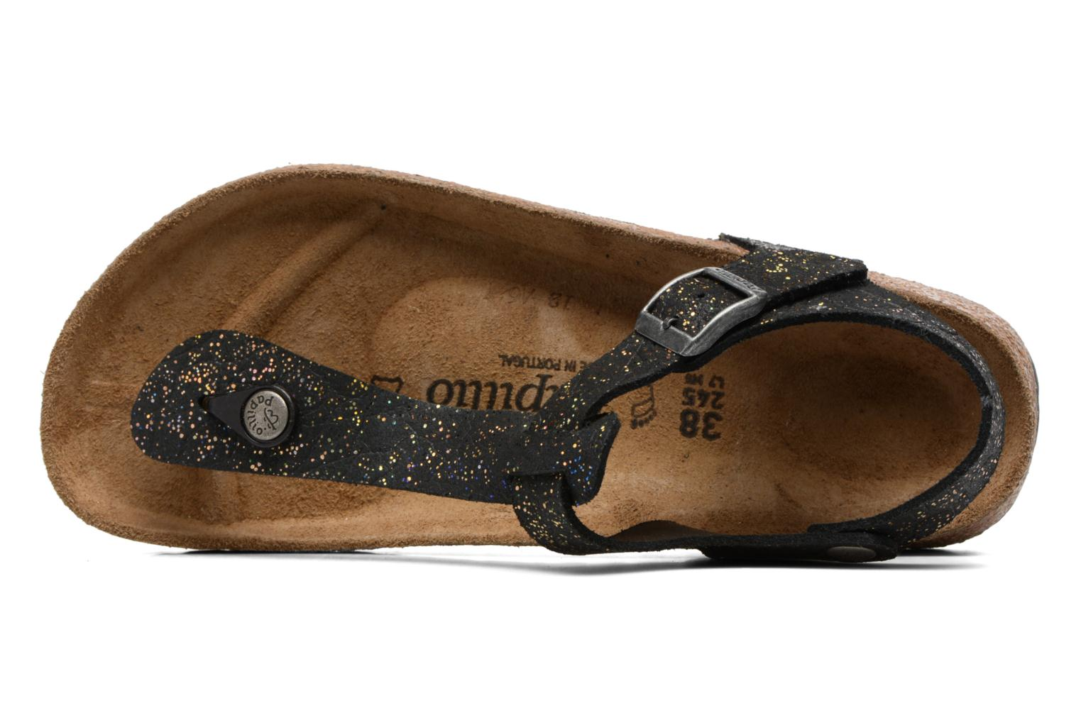 Sandals Papillio Kairo Black view from the left