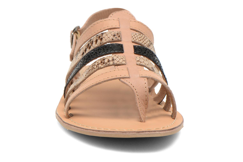 Sandales et nu-pieds André Bonus Multicolore vue portées chaussures