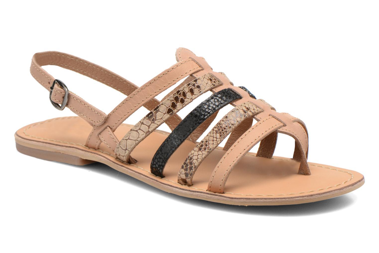 Sandales et nu-pieds André Bonus Multicolore vue détail/paire