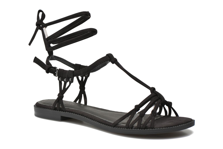Sandales et nu-pieds André Bow Noir vue détail/paire