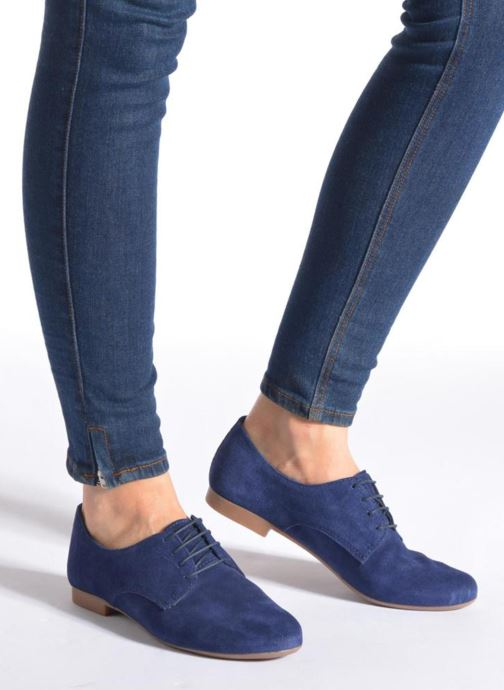 Zapatos con cordones André Fabuleux P Marrón vista de abajo