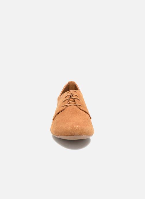 Zapatos con cordones André Fabuleux P Marrón vista del modelo