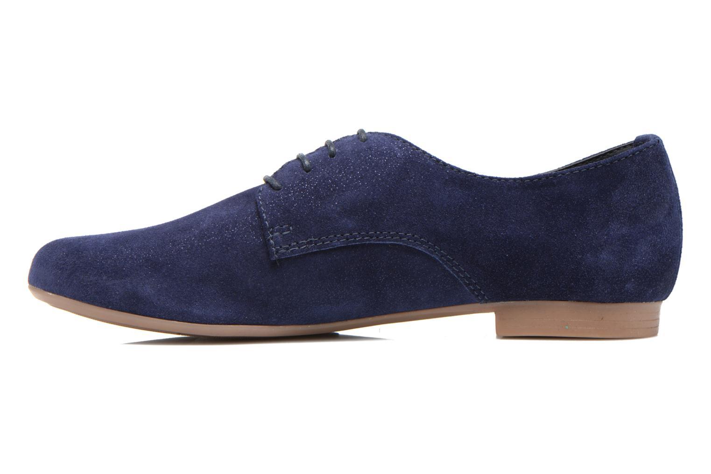 Chaussures à lacets André Fabuleux P Bleu vue face
