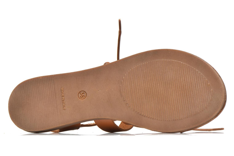 Sandales et nu-pieds André Fare Marron vue haut