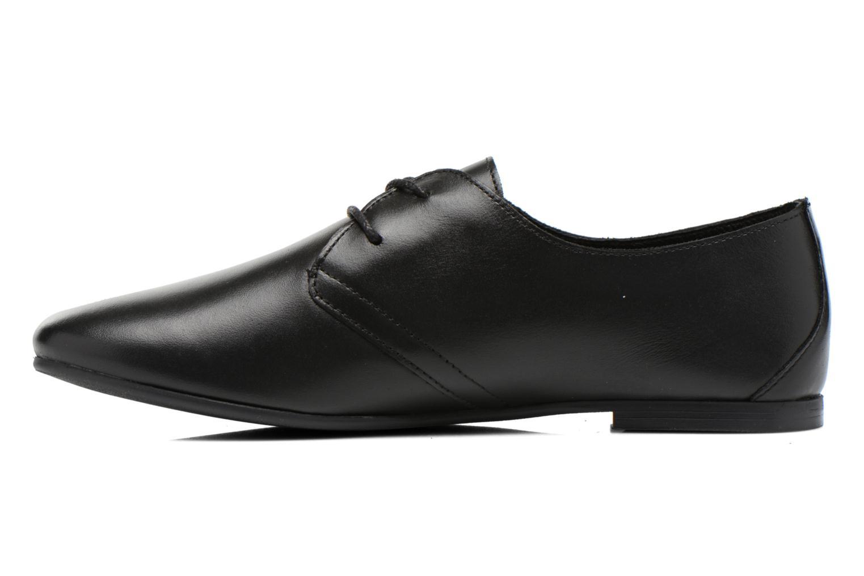 Chaussures à lacets André New Filou Noir vue face