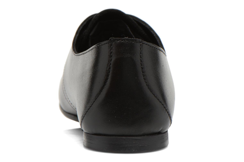 Chaussures à lacets André New Filou Noir vue droite
