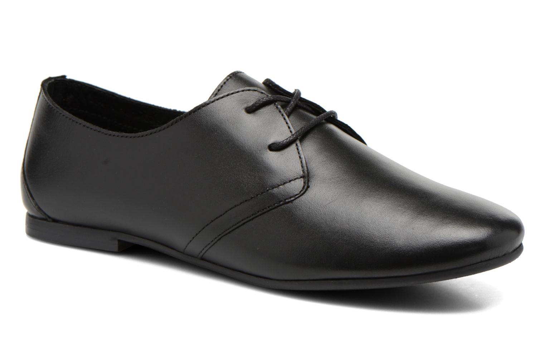 Chaussures à lacets André New Filou Noir vue détail/paire