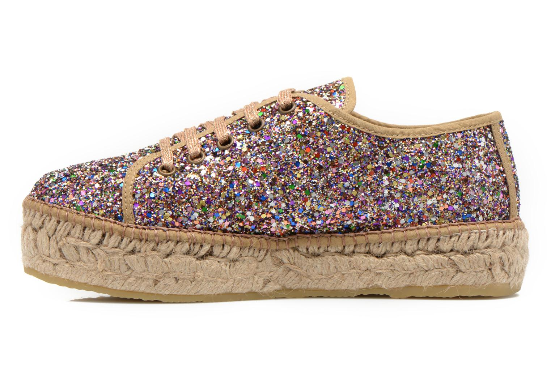Chaussures à lacets André Friandise Multicolore vue face