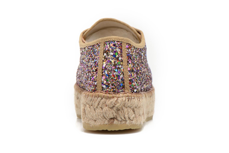 Chaussures à lacets André Friandise Multicolore vue droite