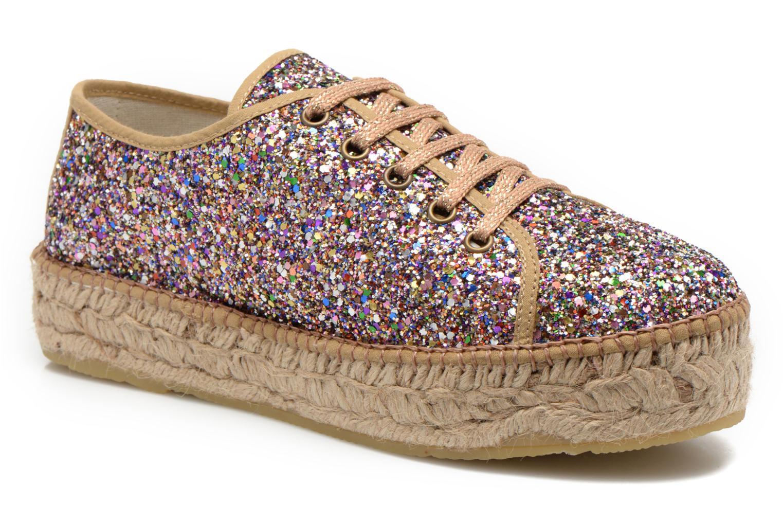 Chaussures à lacets André Friandise Multicolore vue détail/paire