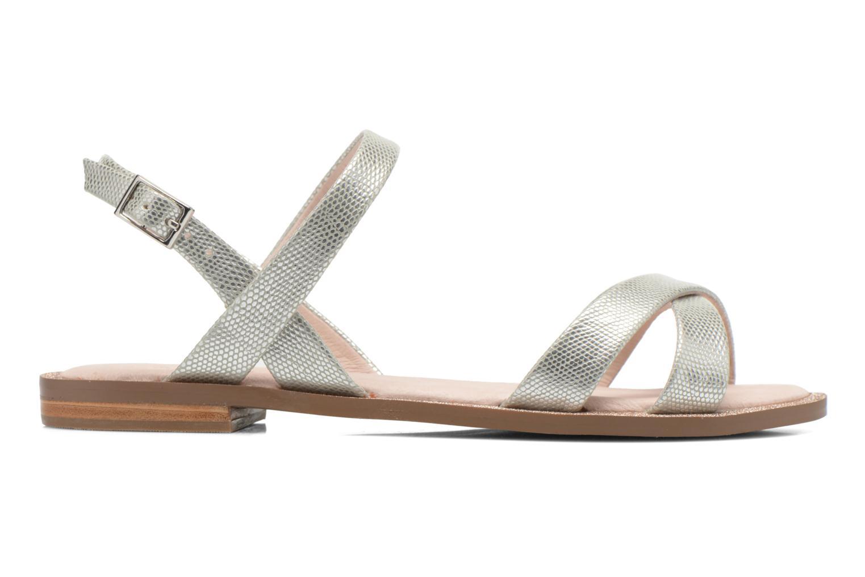Sandales et nu-pieds André Jenny Argent vue derrière