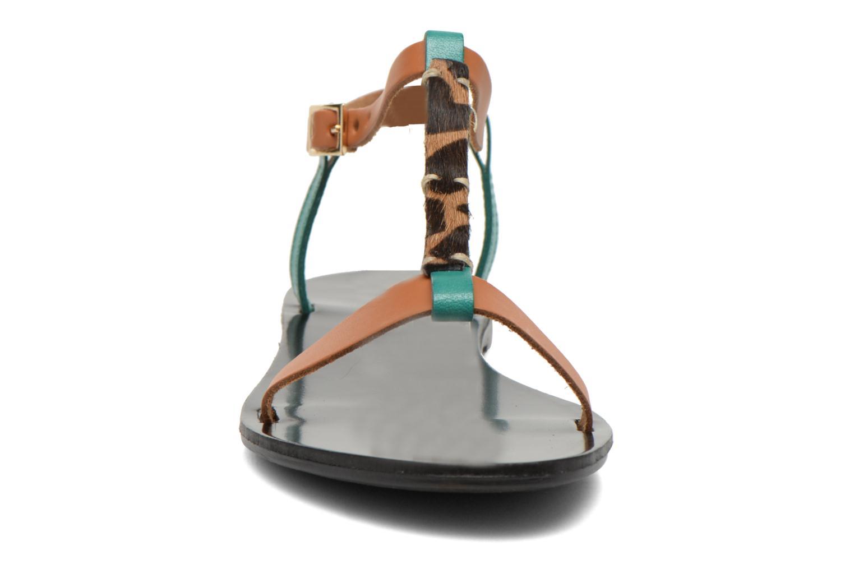 Sandals André Namibie 2 Multicolor model view