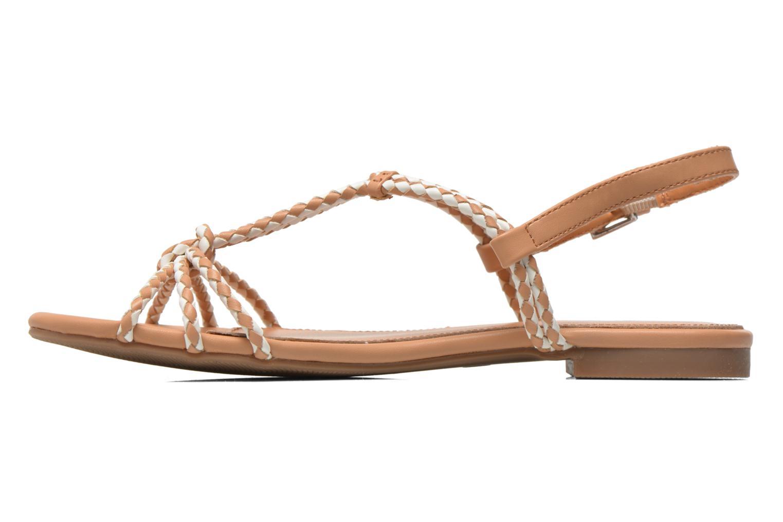 Sandales et nu-pieds André Nectar Beige vue face