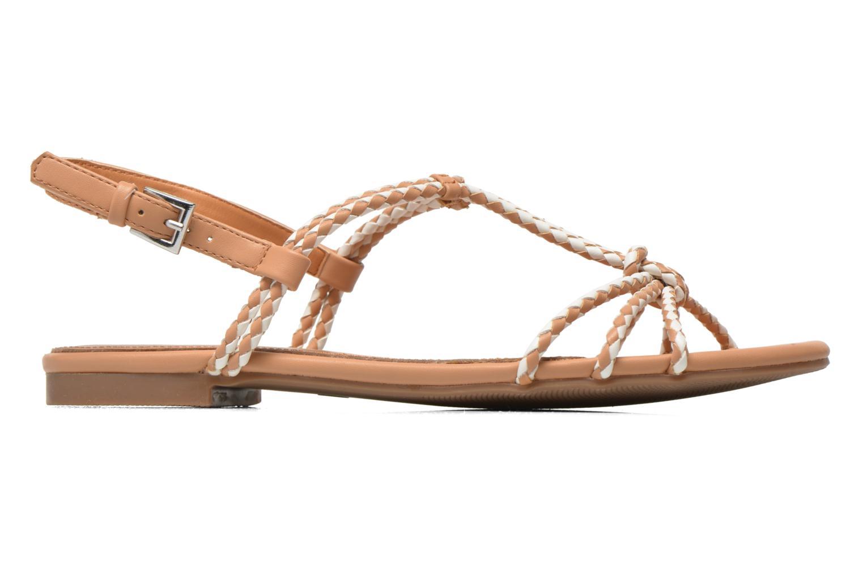 Sandales et nu-pieds André Nectar Beige vue derrière
