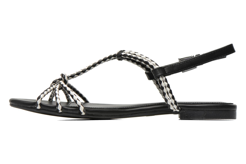 Sandales et nu-pieds André Nectar Noir vue face