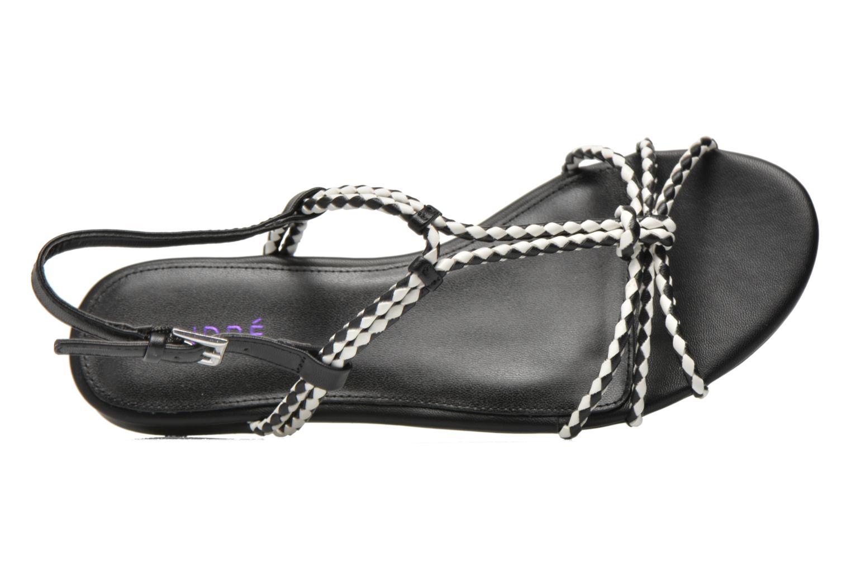 Sandales et nu-pieds André Nectar Noir vue gauche
