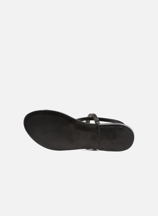 Sandales et nu-pieds André Night Noir vue haut