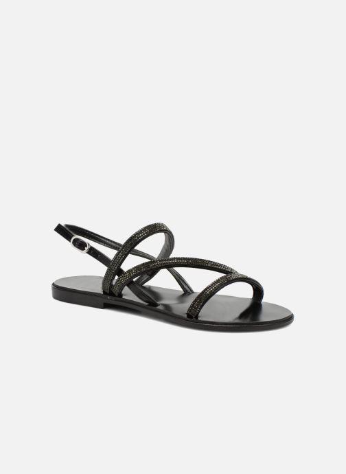 Sandales et nu-pieds André Night Noir vue détail/paire