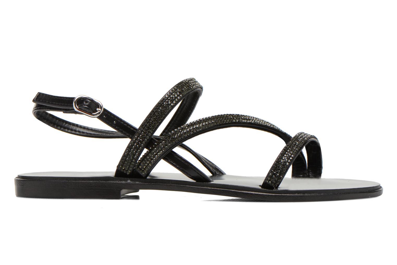 Sandales et nu-pieds André Night Noir vue derrière