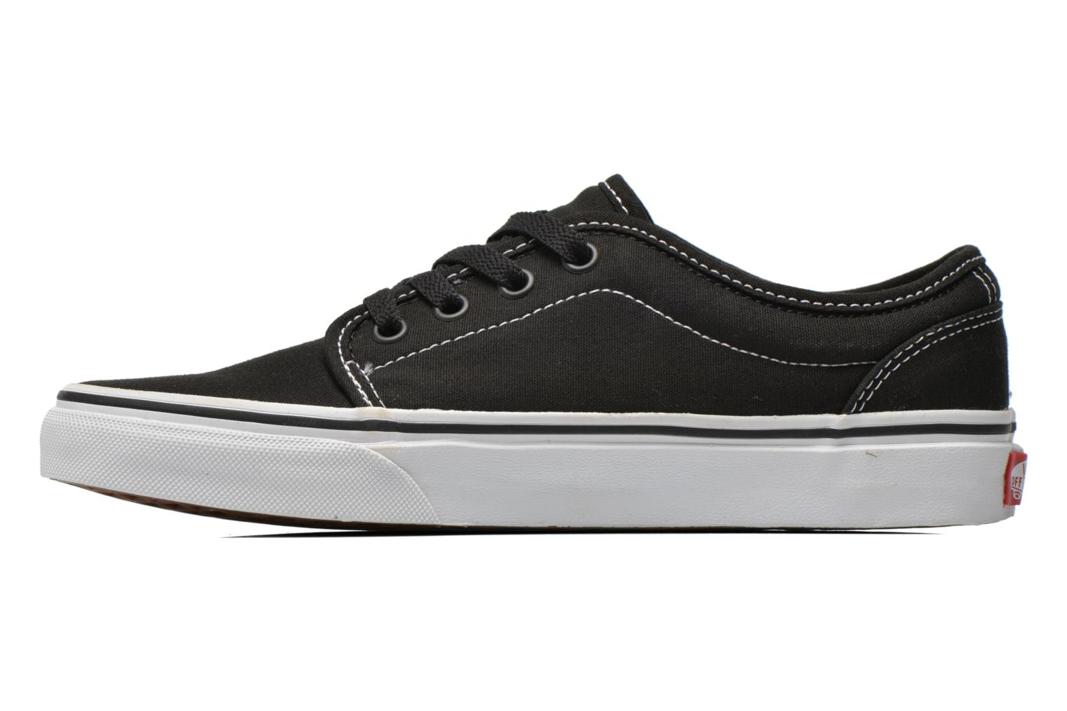 Baskets Vans 106 Vulcanized E Noir vue face