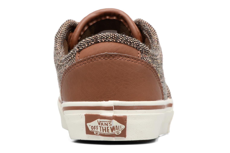 Baskets Vans Atwood Deluxe Marron vue droite