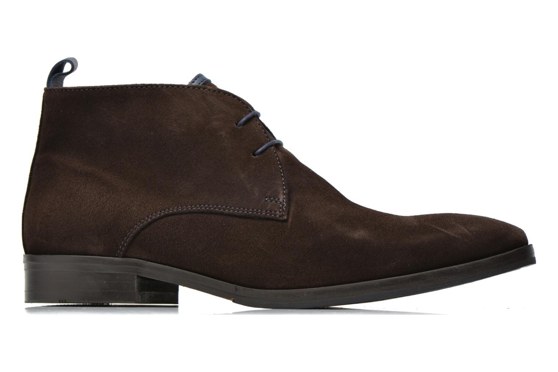 Chaussures à lacets Brett & Sons Bigo 2 Marron vue derrière