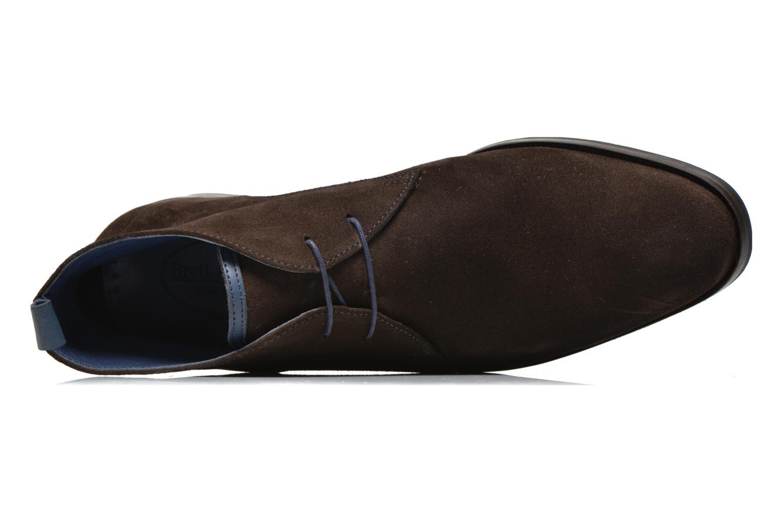 Chaussures à lacets Brett & Sons Bigo 2 Marron vue gauche
