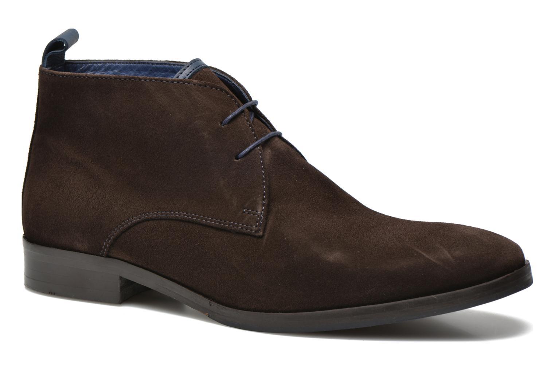 Chaussures à lacets Brett & Sons Bigo 2 Marron vue détail/paire