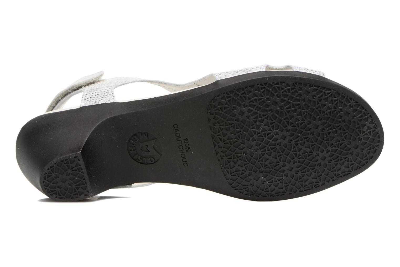 Sandales et nu-pieds Mephisto CINDY Argent vue haut