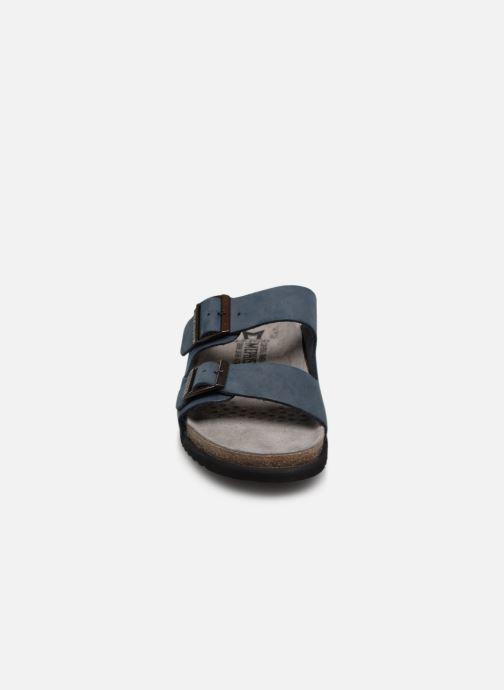 Sandales et nu-pieds Mephisto Nerio Bleu vue portées chaussures
