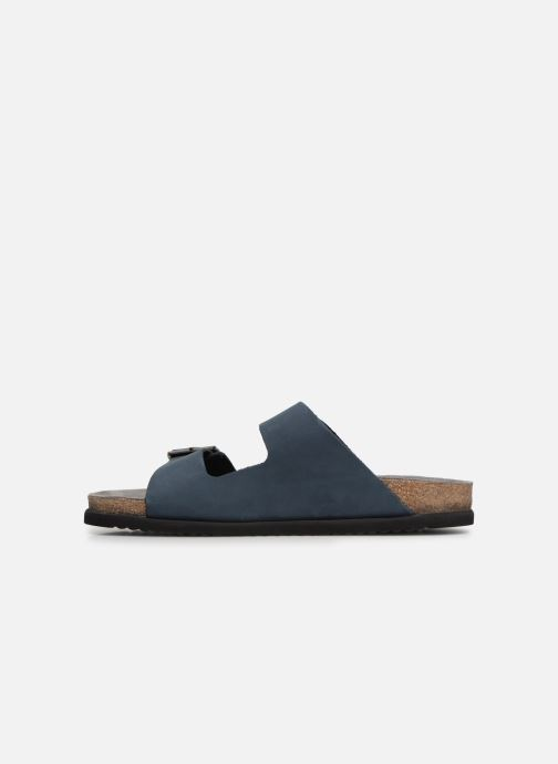 Sandals Mephisto Nerio Blue front view