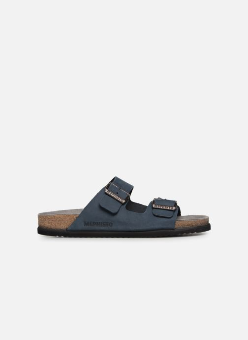 Sandals Mephisto Nerio Blue back view