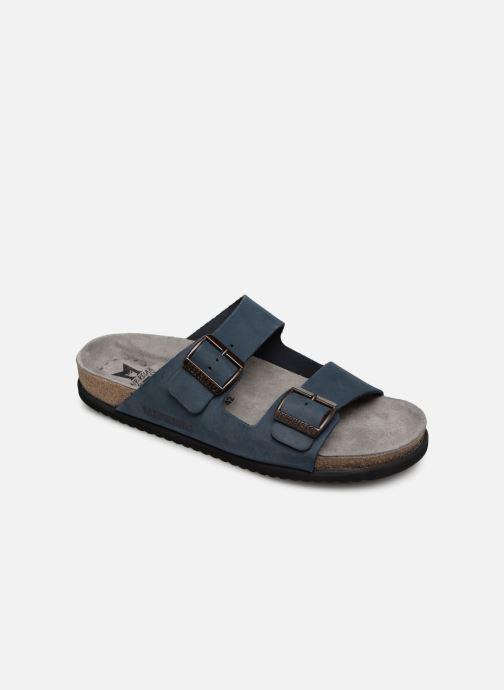 Sandales et nu-pieds Mephisto Nerio Bleu vue détail/paire