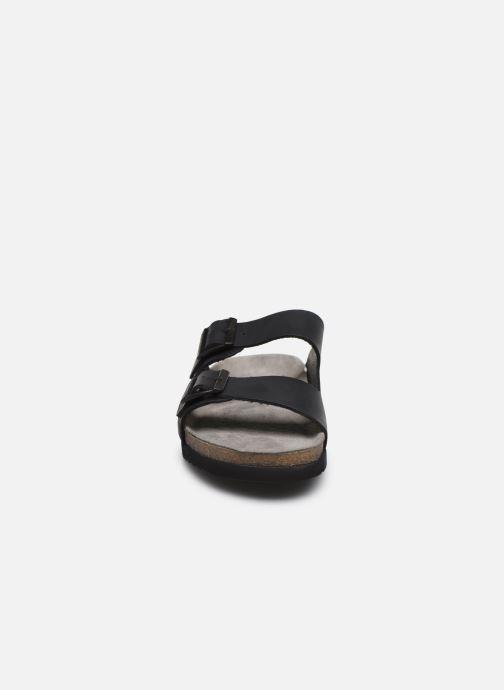 Sandalen Mephisto Nerio schwarz schuhe getragen