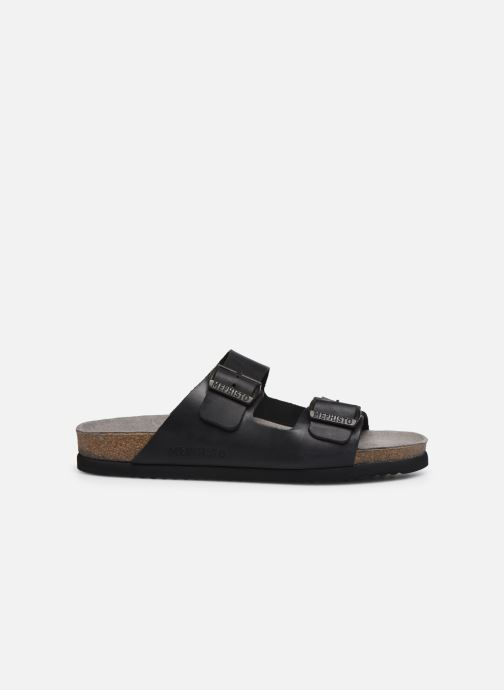 Sandales et nu-pieds Mephisto Nerio Noir vue derrière