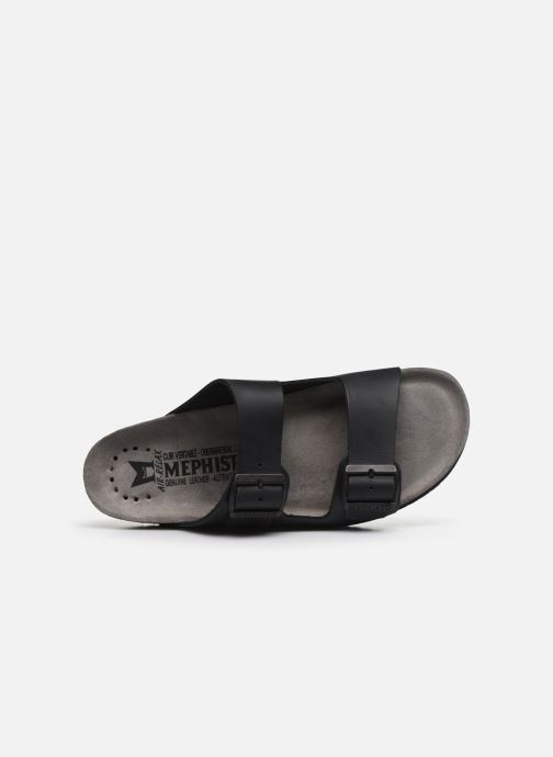 Sandales et nu-pieds Mephisto Nerio Noir vue gauche