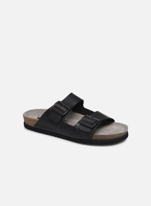 Sandales et nu-pieds Mephisto Nerio Noir vue détail/paire