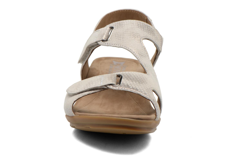 Sandales et nu-pieds Mephisto PARIS Beige vue portées chaussures
