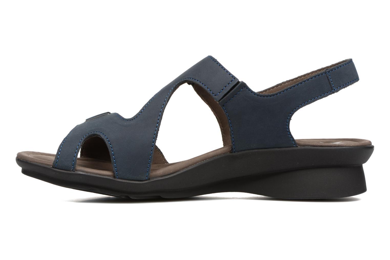 Sandales et nu-pieds Mephisto PARIS Bleu vue face