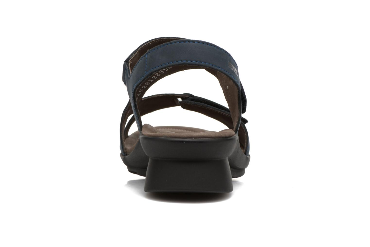 Sandals Mephisto PARIS Blue view from the right