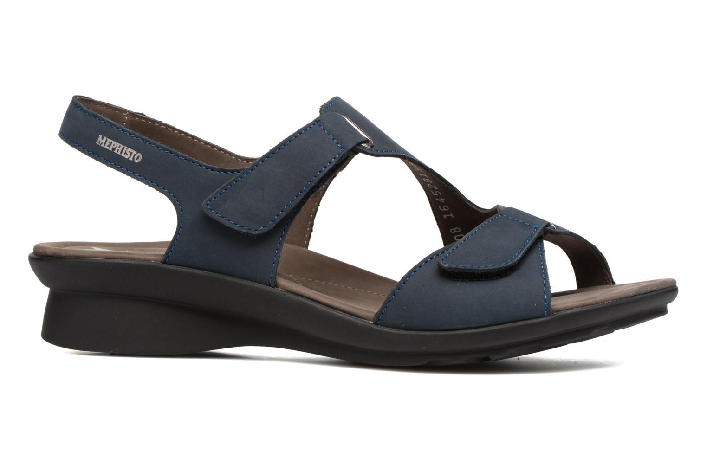 Sandales et nu-pieds Mephisto PARIS Bleu vue derrière
