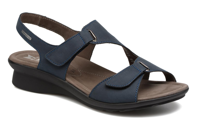 Sandales et nu-pieds Mephisto PARIS Bleu vue détail/paire