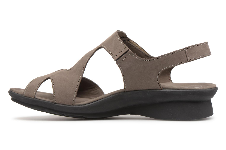 Sandals Mephisto Paris Grey front view