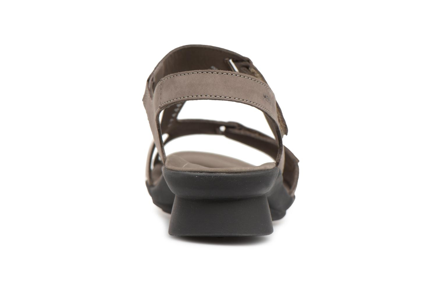 Sandals Mephisto Paris Grey view from the right