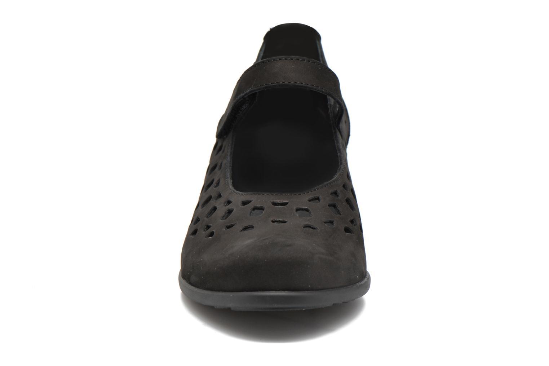 Ballerines Mephisto RODIA Noir vue portées chaussures