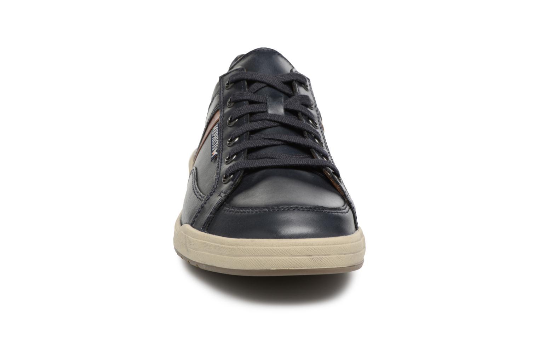 Baskets Mephisto Rodrigo Bleu vue portées chaussures