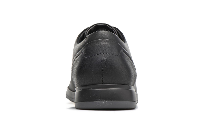Baskets Mephisto VALERIO Noir vue droite