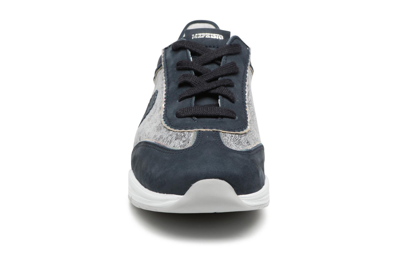 Baskets Mephisto Yael Bleu vue portées chaussures